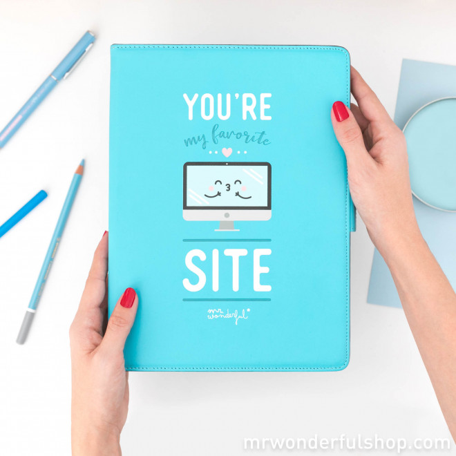 "Capa para tablet de 9,7"" a 10,1"" -  You are my favorite site (ENG)"