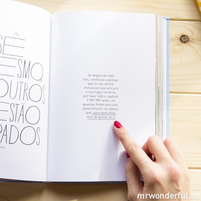 """Livro """"Coisas nada aborrecidas para ser muito feliz"""" (PT)"""