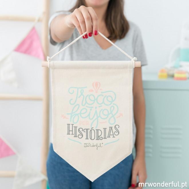 Bandeirinha - Troco beijos por histórias (PT)