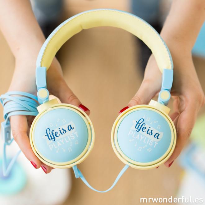 Auscultadores wonder - Life is a playlist