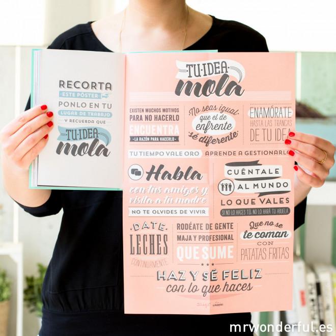 """Libro """"Tu idea mola. Porque si quieres, puedes"""""""
