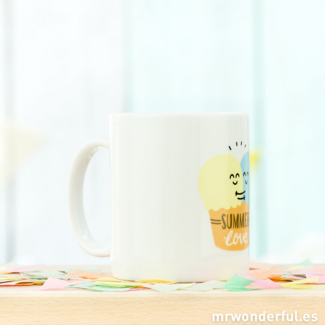 "Caneca ""Summer love"" (ENG)"