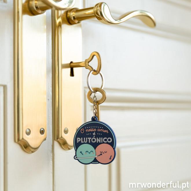 Porta-chaves - O nosso amor é plutónico (PT)