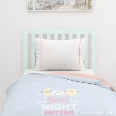 Capa de edredão para cama de 90 cm - Rise and shine