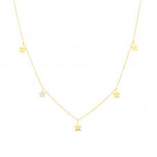 Colar Hanging Stars - Estrelas