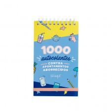 Bloco de 1000 autocolantes