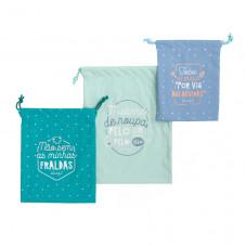 Saquinhos organizadores para os imprescindíveis do teu bebé