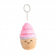 Porta-chaves peluche squishy - Cupcake