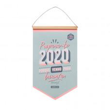 Calendário de parede - Prepara-te 2020 porque venho para triunfar