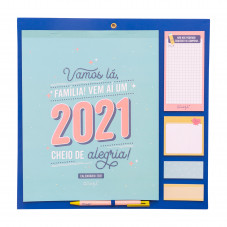Calendário familiar 2021 Mr. Wonderful