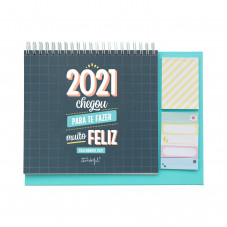 Calendário de mesa 2021 Mr. Wonderful