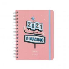 Agenda sketch 2021 Vista semanal - 2021 vai ser o máximo