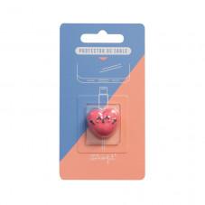 Protector de cable - Corazón