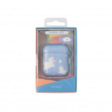 Caixa Slim AirPods - Unicórnios