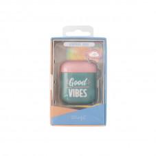 Caixa Slim AirPods - Good vibes