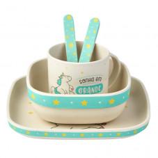 Louça de bambu para bebés Mr. Wonderful x Saro - Sonha...