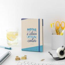 Caderno com notas adesivas - Notas e ideias que vão colar (PT)