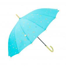 Guarda-chuva grande azul turquesa - Linha Sketch