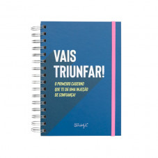 Caderno com frases motivadoras - The Powerful Collection