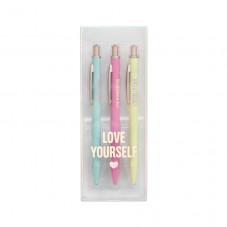 Pack de 3 canetas