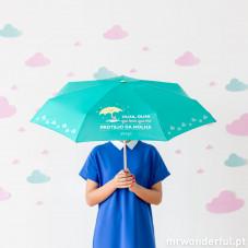 Guarda-chuvas pequeno - Olha, olha que bem que me