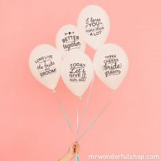 Balões para casamentos fantásticos (ENG)