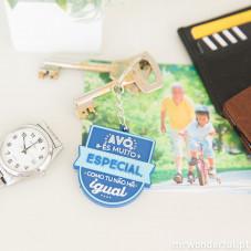Porta-chaves - Avô, és mesmo especial, como tu não há igual! (PT)