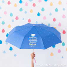 Medium umbrella - Something wonderful is going to happen today (ENG)