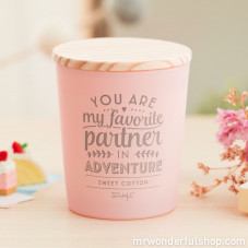 Candle - You are my favorite partner in adventure (ENG)