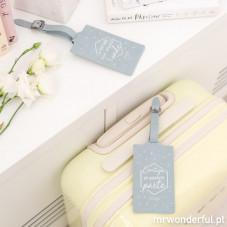 Conjunto de 2 etiquetas para bagagem - Para viajarem juntos para qualquer lado