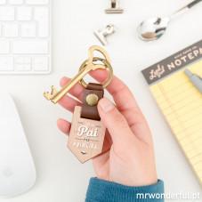 Porta-chaves - Sou um pai de primeira (PT)