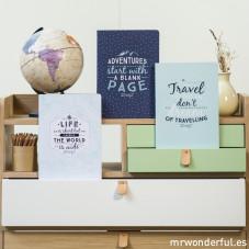 "Cadernos ""Daydream travel notebooks"" (ENG)"