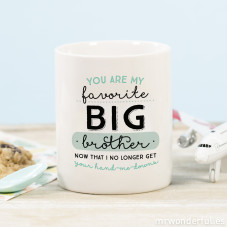 "Caneca ""You are my favorite big brother"" (ENG)"