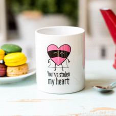 "Caneca ""You've stolen my heart"" (ENG)"