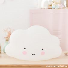 """Luz de Presença """"Big cloud"""" Branca"""