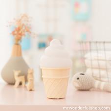 """Luz de Presença """"Mini icecream"""" Branca"""