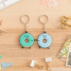 Conjunto de 2 porta-chaves - Vamos devorar o mundo! (PT)