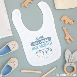 Babete bebé personalizado