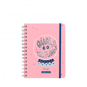 Agenda anual sketch 2020 Vista semanal - Qual é o teu plano?