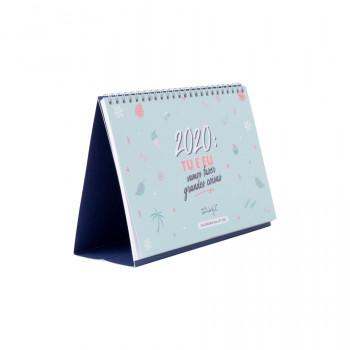 Calendário bullet - 2020: tu e eu vamos