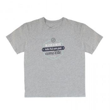 T-shirt - De este a oeste não há um pai como este