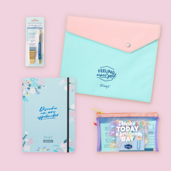 Kit de agenda bullet - Desenha um ano espetacular