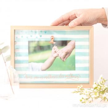 Moldura de fotos avós