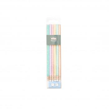 Pack de 6 lápis superbonitos