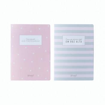 Conjunto de 2 cadernos para mentes inquietas (PT)