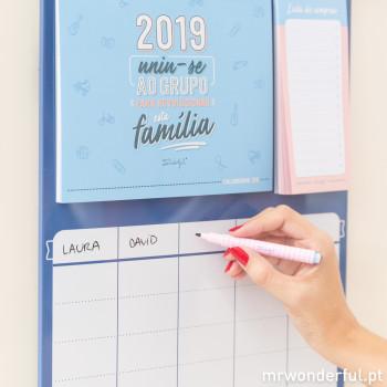 Calendário familiar - 2019 uniu-se ao grupo  (PT)