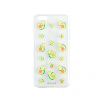 Capa transparente para iPhone 6 plus - Abacates