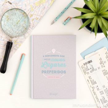 Caderno de viagem
