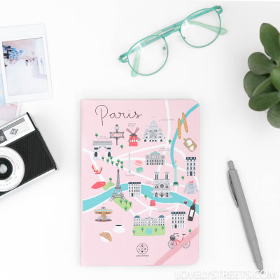 Caderno Lovely Streets - Paris