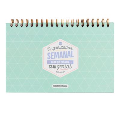 Organizador semanal para que cada dia seja genial